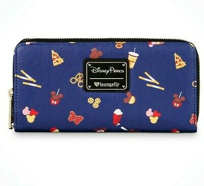 NEW Disney Parks Food Icons Wallet by Loungefly New with Tags
