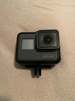 GoPro Hero 6 Black 4k Ultra HD WiFi Waterproof Camera - Very Good Condition