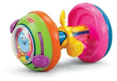 Fisher Price Bat and Crawl Musical Roller W9862 Batteries Included