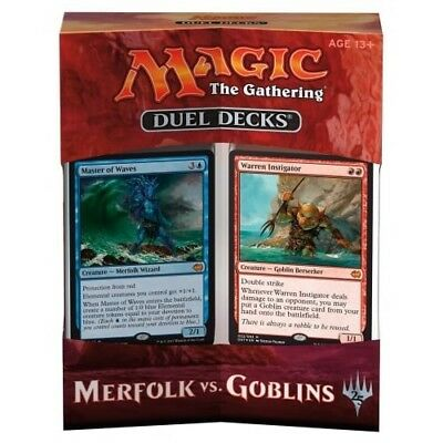 Magic The Gathering: Merfolk vs Goblins Duel Decks Inglese