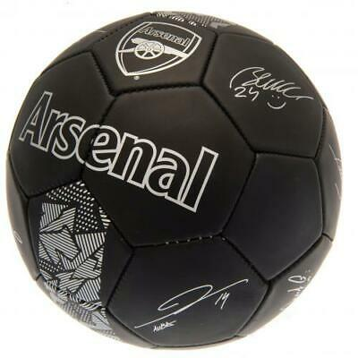 Arsenal Fc Football Size 5 Ball Printed Signatures Signed PH