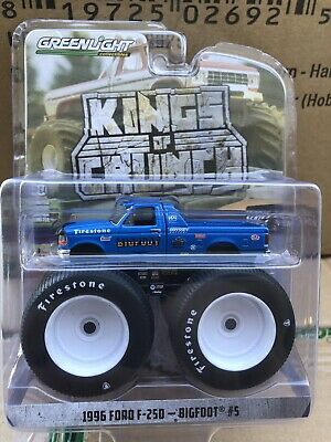 Greenlight Kings of Crunch series 4 1996 Ford F-250 Monster Bigfoot #5
