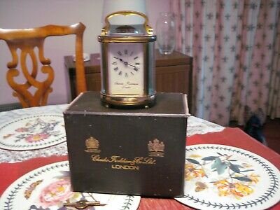1965 ' Charles Frodsham Carriage Clock ,
