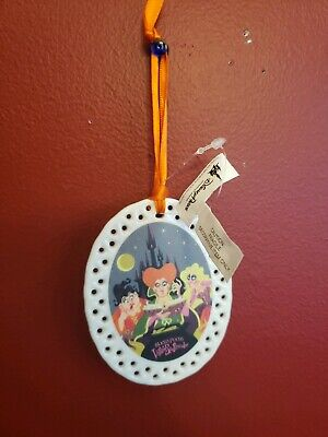 NEW Mickey's Not So Scary Halloween Party 2019 Hocus Pocus Christmas Ornament
