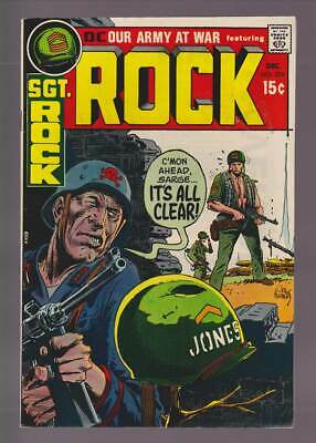 Our Army at War # 226  C'mon Sarge...it's all Clear !  grade 8.5 scarce book !