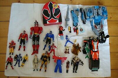 Transformers Power rangers & others job lot toys 20+ items mixed Star wars?
