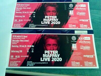 Peter Maffay Live 2020 Tickets Samstag 29.3.2020 Mercedes-Benz Arena Berlin