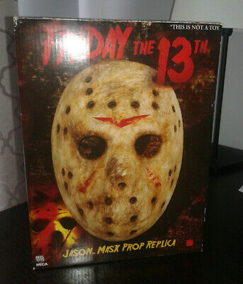 NECA RARE Friday the 13th Jason Voorhees Mask Prop Replica 2009