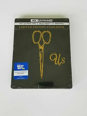 New US 4K Steelbook Digital Limited Edition Best Buy Exclusive Sealed UHD Bluray