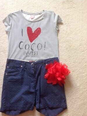 Girls Scotch R Belle Size 12 Shorts & Top -Exc