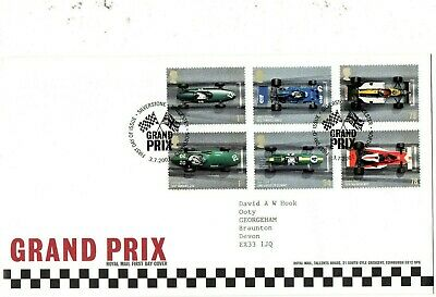 GB 2007 Grand Prix FDC  pictorial Silverstone FDI cancellation