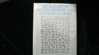 VERY RARE DICTIONARY OF OCCULT, HERMETIC & ALCHEMICAL SIGILS  1st Edition