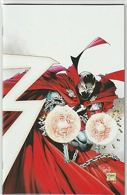SPAWN 300 COVER K 1:25 GREG CAPULLO TODD McFARLANE VIRGIN VARIANT 1st Appearance