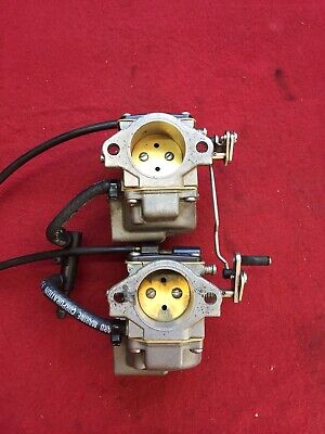 MERCURY 2 CYLINDER Outboard Carburetor Set 398340 398347