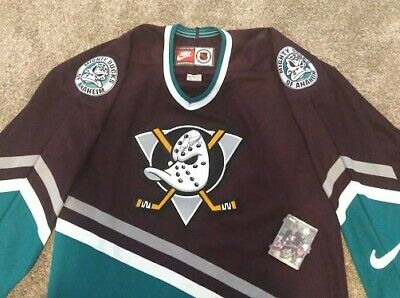 the best attitude 0c5a7 580c5 VINTAGE ANAHEIM MIGHTY Ducks Jersey Autographed by Paul ...