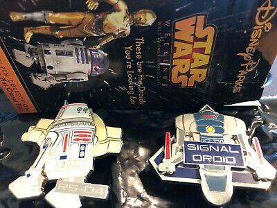 Disney Parks Pins Limited Release Droids Star Wars Weekends 2015