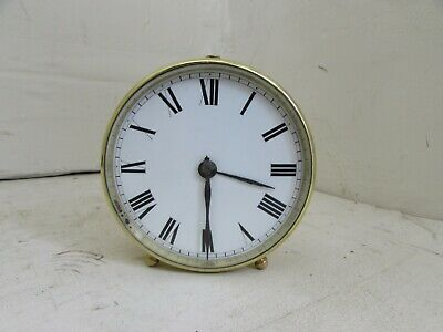 V.A.P Brevete S.G.D.G. Brass Cylinder Cased Clock, Movement Fully Cleaned/Servic
