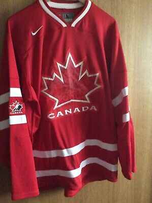 Canada Vancouver Olympic 2010 NHL Team Jersey - Ultra Rare - Nike - Large