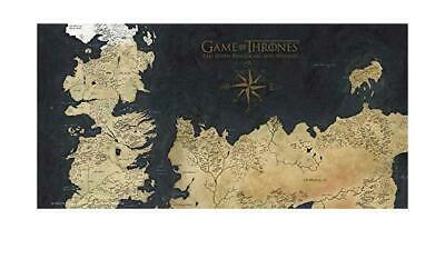 GAME OF THRONES - GLASS PRINT - Westeros Map - 60X30 cm