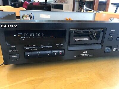 Sony Dtc-A6 Digital Audio Tape Dat Recorder & Player