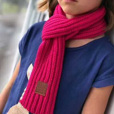 Pink Scarf for children kids beautiful soft perfect for winter, Aussie seller