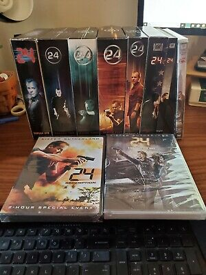 24 - Sutherland Complete Series 1-8 + Movie 24 Redemption + 24 Live Another Day