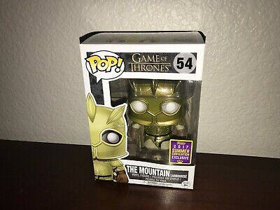 Funko Pop! Game of Thrones The Mountain Armored #54 SDCC Convention Exclusive