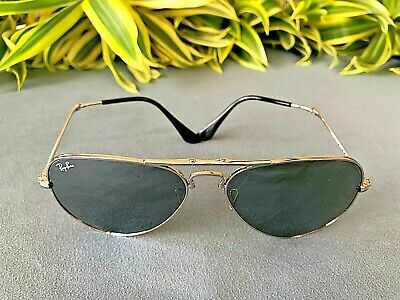 Ray Ban rb3479 Folding 55 Gold Photo Yellow GSM Double Mirror | eBay