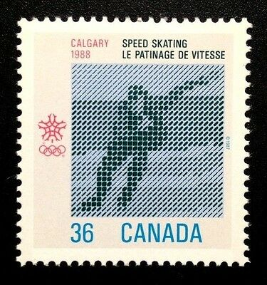 Canada #1130 MNH, Olympic Winter Games Stamp 1987