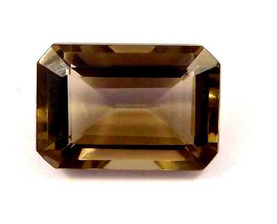 Treated  Faceted Smoky Loose Gemstones 9 CT 12x10 mm NG16133