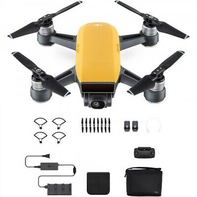 DJI Spark Fly More Combo - Yellow (flown twice)