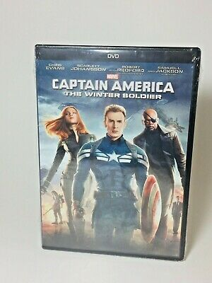 Marvel Captain America 2 The Winter Soldier DVD 2014 Brand New Sealed