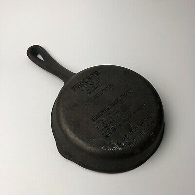 "Wagner's 1891 - Original Cast Iron Cookware 6.5"" inch Skillet"