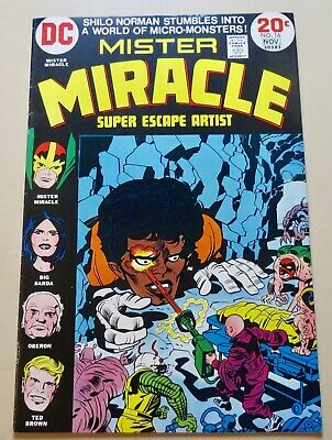 19-C0562: Mister Miracle # 16, 1973, FN/VFN 7.0! See Promo 7 for 7!