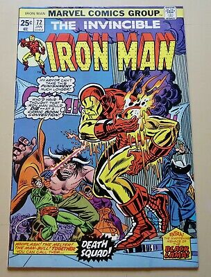 19-C0561: Iron Man # 72, 1975, FN+ 6.5! See Promo 7 for 7!