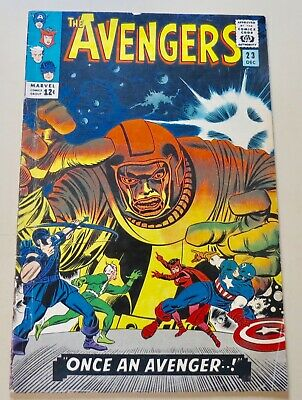 """19-C0595: Avengers # 23, 1965, VG/F 5.0! The """"Bill P."""" copy! See Promo 7 for 7!"""