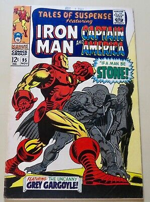 19-C0597: Tales of Suspense # 95, 1967, VF- 7.5! Oddity copy! See Promo 7 for 7!