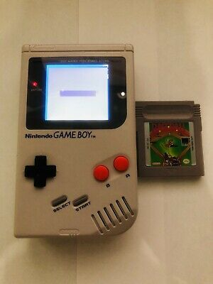 GAMEBOY DMG WITH Backlight and Bivert  6 Mods! - $99 00