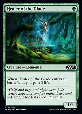 Healer of the Glade Core Set 2020 Mtg x4 4x M20 Magic