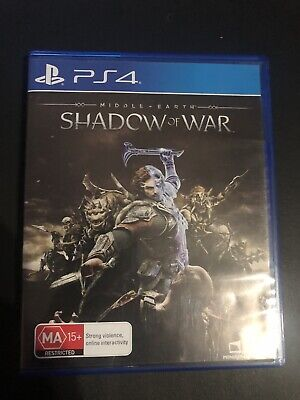Middle Earth Shadow Of War Pal Ps4 Like New Cheap Aus🇦🇺Seller Fast & Free