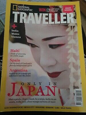 National Geographic Traveller Magazine June 2016 UK Edition