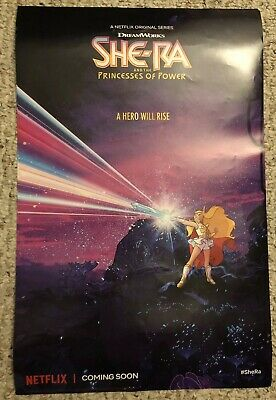 She-Ra & The Princesses Of Power 11x17 Promo Poster Brand New Netflix Rare MOTU
