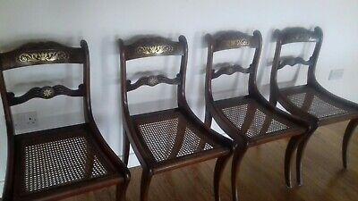 Antique dining chairs 4