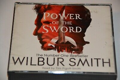 Wilbur Smith Power Of The Sword 4 CD Audio Book Tim Pigott-Smith
