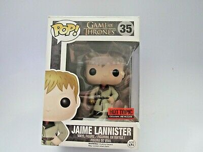Funko Pop Game of Thrones Jaime Lannister Gold Hand 35 Vaulted 2015 Edition Five