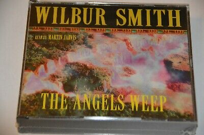 Wilbur Smith The Angels Weep CD Audio Book Martin Jarvis New & Sealed