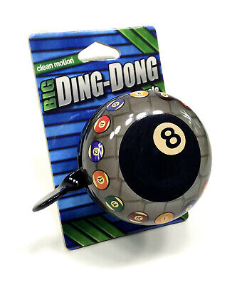 Clean Motion Big Ding Dong 8ball 8 Ball Bell for sale online