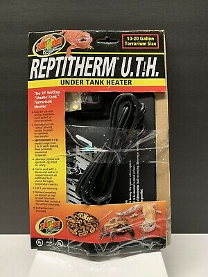 Zoo Med ReptiTherm UTH Under Tank Heater 10-20 gal for Glass Terrariums Only