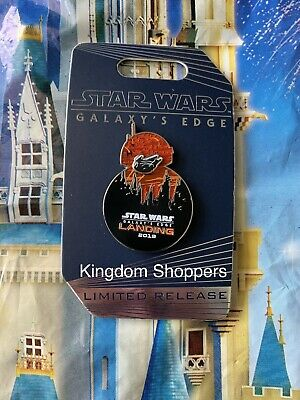 NEW 2019 Disney World Star Wars Galaxy's Edge BB-8 Pin Hollywood Studios