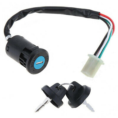 Motorcycle ATV Ignition Switch Start Electric Door Lock Key For Motorcycle E BSC